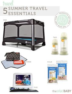 5 Summer Travel Essentials for baby + an awesome giveaway from @4moms!