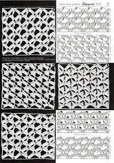Вязание крючком и спицами/Crochet and knitting: Duplet 132