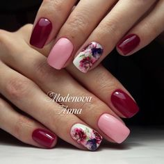 60 Stylish Nail Designs for Nail art is another huge fashion trend besides the stylish hairstyle, clothes and elegant makeup for women. Nowadays, there are many ways to have beautiful nails with bright colors, different patterns and styles. Winter Nails, Spring Nails, Summer Nails, Nail Designs Spring, Nail Art Designs, Flower Nail Designs, Nails Design, Gorgeous Nails, Pretty Nails
