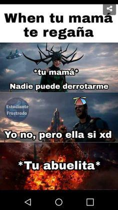Avengers Memes, Marvel Memes, Marvel Avengers, Funny Spanish Memes, Funny Memes, Dog Memes, Mundo Meme, Marvel Universe, Triste Disney