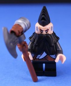 This listing is for a new 2014 custom LEGO minifigure based on the New LEGO Hobbit ™ Theme:DWALIN. This is a unique store that offers many great hard to find or out of production factory LEGO® figures, sets, and accessories!