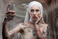 nun of your business | selfie nun | © Pierre Beteille -   Sister Marion