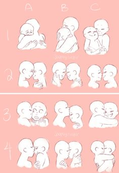 ideas for drawing poses kiss art reference Drawing Challenge, Art Challenge, Couple Drawings, Easy Drawings, Couple Poses Drawing, Hugging Couple Drawing, Hipster Drawings, Pencil Drawings, Couple Hugging