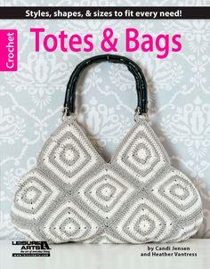 Cute granny square tote bag!
