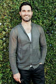 Tyler Hoechlin attends the John Varvatos 13th Annual Stuart House benefit presented by Chrysler with Kids' Tent by Hasbro Studios at John Varvatos Boutique on April 17, 2016 in West Hollywood, California.