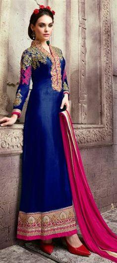 Long Anarkali Suits Online - Buy Long Anarkali Salwar Suits For Women In India - IndiaRush Best Designer Sarees, Designer Dresses, Designer Anarkali, Designer Wear, Long Anarkali, Anarkali Suits, Indian Dresses, Indian Outfits, Ethnic Outfits