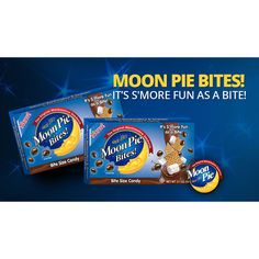 MoonPie Bites combine classic graham, marshmallow and chocolate flavors in a bite-sized treat.