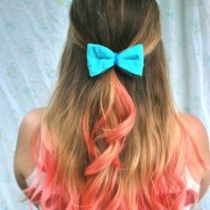 Eight different ways to wear a bow in your hair!