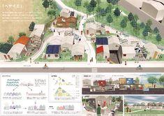 Architecture Panel, Architecture Drawings, Landscape Architecture, Landscape Design, Architecture Design, Minecraft Architecture, Architecture Diagrams, Interior Design Presentation, Architecture Presentation Board