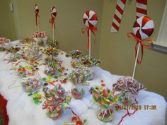 Candyland Christmas table