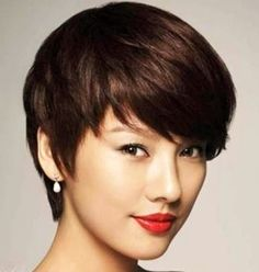 Pleasant Short Asian Haircuts With Bangs Hair Style Cut Color Short Hairstyles For Black Women Fulllsitofus