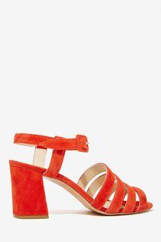 Maryam Nassir Zadeh Palma Suede Heel - Heels | Shoes | All | Open Toe