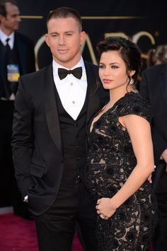 Oscar 2013 Red Carpet Gallery: Channing Tatum and his wife Jenna Dewan