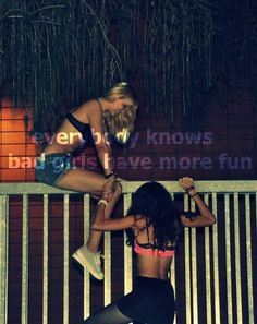Everybody knows we have more fun