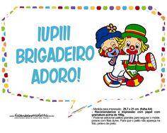 Plaquinhas Patati e Patata 3 Smurfs, Boys, Fictional Characters, Lucas 2, Minne, Lucca, Gabriel, Party Ideas Kids, Hilarious