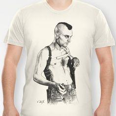 Taxi driver Robert de niro T-shirt by Calibos - $18.00