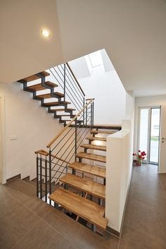 House Inside, Home And Living, Stairs, Architecture, Blog, Tiny Houses, Inspiration, Home Decor, Entryway Stairs