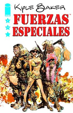 Special Forces 1-4 Comix