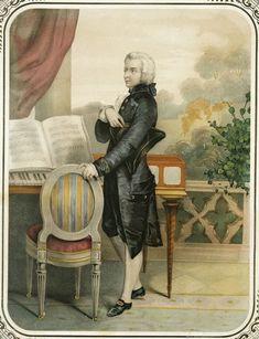Unknown painter Standing portrait of Wolfgang Amadeus Mozart. Historisches Museum der Stadt Wien