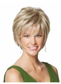 Fashion Blonde Haircut
