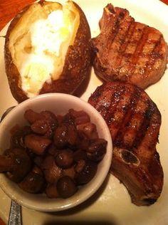 Outback Steakhouse Copycat Recipes: Burgundy Mushrooms