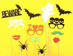 Image result for halloween photo booth kit