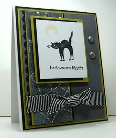 Halloween Frights by juliemlacey - Cards and Paper Crafts at Splitcoaststampers