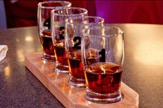 $16 for a Whiskey Sampler and Two Appetizers
