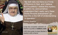 #Fridayface #MotherAngelica #EWTN #Catholic