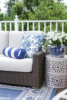 Outdoor Lounge: How One Piece Can Pull Your Patio Decor Together