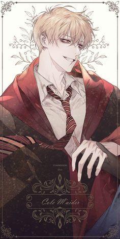 Harry Potter Anime, Arte Do Harry Potter, Dark Anime Guys, Cute Anime Guys, Anime Boys, Manga Art, Anime Art, Character Inspiration, Character Art
