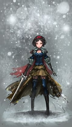 SnowWhite by robokit.deviantart.com on @deviantART