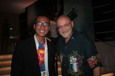 With the great FRANK DARABONT (the director of 'The Shawshank Redemption', 'The Green Mile', and producer of 'The Walking Dead' season 1) at Comic-Con 2011. Check out my movie blog: Rama's SCREEN at www.ramascreen.com and LIKE my Facebook page at facebook.com/ramascreen and follow me on twitter at @RamasScreen #TheWalkingDead #ShawshankRedemption