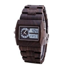 Man Wooden Watch New Year Gift Bangle Quartz Watch With electronic Display Role Men Relogio Masculino Watches That`s just superb! #shop #beauty #Woman's fashion #Products #Watch