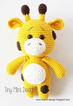 Amigurumi Zürafa Yapılışı-Amigurumi Giraffe Pattern