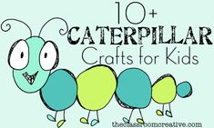 A round up of spring caterpillar crafts for kids!