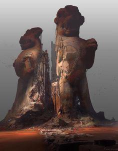 ArtStation - Burning Lakes, Finnian MacManus