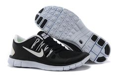 #shoes #womens #sneakers Black Nike Free 5.0 Mens White Running Shoes