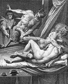 »»» Mein Weib, die Schöne, schüttelte nur sanft und großäugig den...    #mythologie