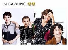 They grow up so fast, I cannot believe that Finn is turning 15 this month! Movies Showing, Movies And Tv Shows, Stranger Things Funny, Don T Lie, Millie Bobby Brown, Best Shows Ever, Best Tv, Favorite Tv Shows, Actors & Actresses