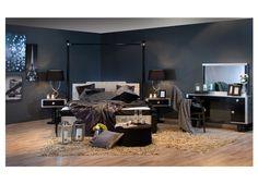 #باريس في منزلك مع #غرفة_النوم هذه من #ميداس ما رأيكم بها ؟ #مفروشات #أثاث #السعودية #الكويت #قطر