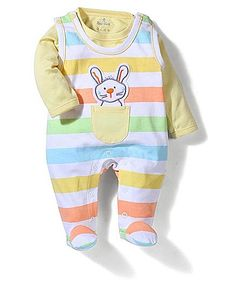 Child World Sleeveless Romper With Inner Tee - Yellow http://www.firstcry.com/child-world/child-world-sleeveless-romper-with-inner-tee-yellow/756790/product-detail