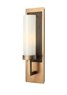 Buy Metro Single Cylinder Sconce by Hammerton - Made-to-Order designer Sconces from Dering Hall's collection of Contemporary Wall Lighting.