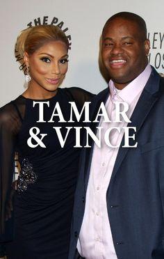 Tamar Braxton and her husband Vince