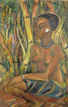 Irma Stern, Congo Woman