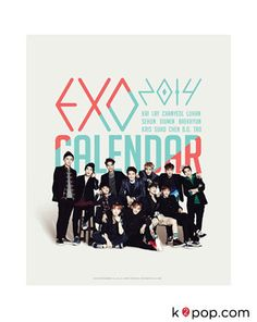 [PRE-ORDER] SM ARTIST 2014 SEASON GREETING [EXO] DESK CALENDAR + SCHEDULER + MAKING DVD