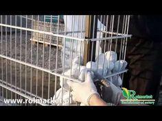 Ogrodzenia gabionowe. Gabiony. Jak zbudować ogrodzenie gabionowe? www.rolmarket.pl - YouTube