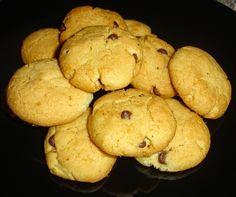 Μπισκότα Cookies με Πορτοκάλι και Σοκολάτα