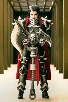 Epic axe armour
