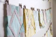 Lovely and Enough: Farmer's Wife Quilt display